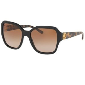 Tory Burch Square Tortoise Shell Sunglasses